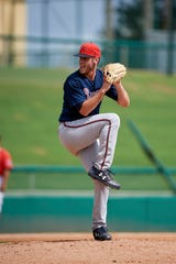 Left-hander Joey Wentz is one of four prospects the Tigers acquired Wednesday.