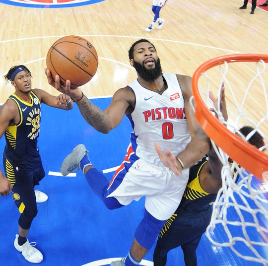 Pistons center Andre Drummond won't be playing for Team USA in the 2019 FIBA World Cup in China.