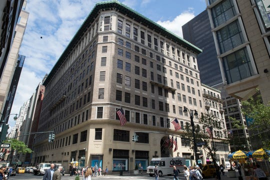 The Lord & Taylor flagship store on Fifth Avenue in New York.