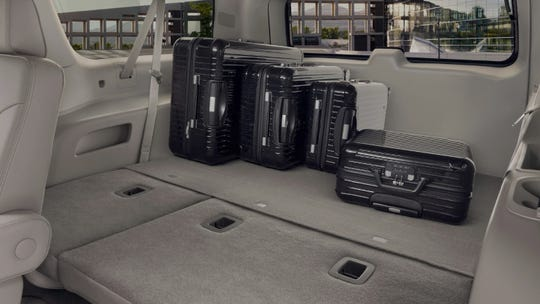 Yukon XL has a wheelbase that is 14 inches longer (20.5 inches overall) than the Yukon with more than twice the cargo room behind the third-row seat.