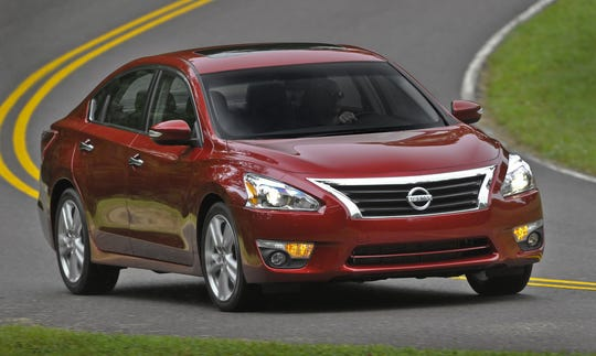 "Nissan will do a ""service campaign"" to fix nearly 200,000 2013 Altima midsize cars,  because a suspension part can come loose from the frame due to corrosion"