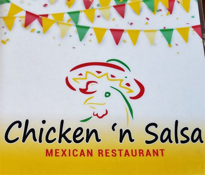 Chicken 'n Salsa is located at 122 N. Weinbach Ave.