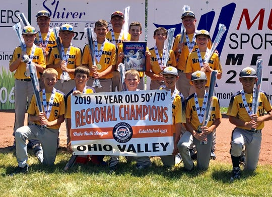 The Newburgh 12U Blue Knights' magical run ended in the semifinals of the American bracket of the Cal Ripken World Series at Branson, Mo.