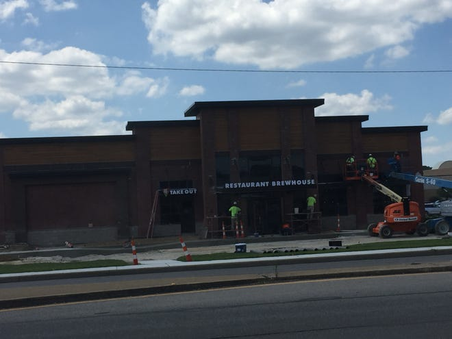BJ's Restaurant & Brewhouse, nearing its opening on Evansville's East Side, has a big menu with pizza, burgers and much more.