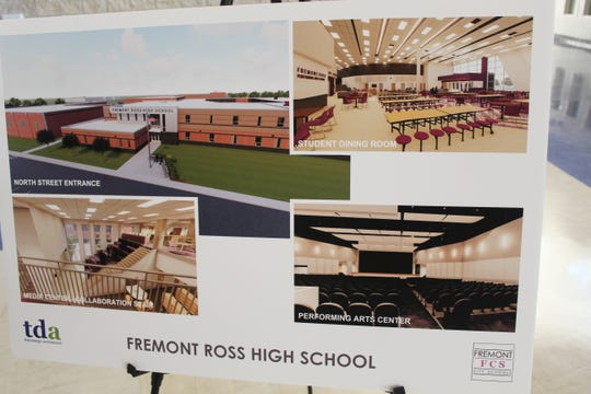 Residents got a look at what the new Fremont Ross High School will look like Wednesday evening, as Fremont City Schools hosted a virtual tour of the new campus at Fremont Middle School.