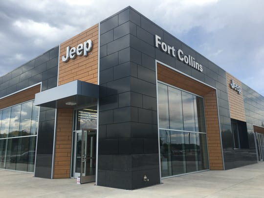 Fort Collins' newest auto showroom is now open at Harmony Road and Mason Street. Fort Collins Jeep moved from the store it shared with Dodge and Chrysler tripling its service capacity.