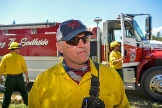 """We start at the black and hit every little smoke,"" Capt. Garrett Venters, of the Missoula Fire Department, said of mop-up work at the North Hills Fire."