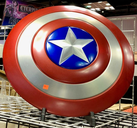 For $300, this replica Captain America shield can be yours.