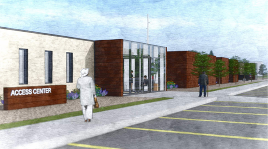 Neumann Monson Architects submitted design plans for the Behavioral Health and Urgent Care Access Center to the Johnson County Board of Supervisors.