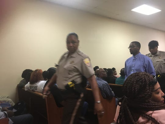 Terence Sample, the man accused of kidnapping and killing McKayla Winston and her unborn child, appeared in Holmes County Justice Court on Aug. 1, 2019, for a preliminary hearing.