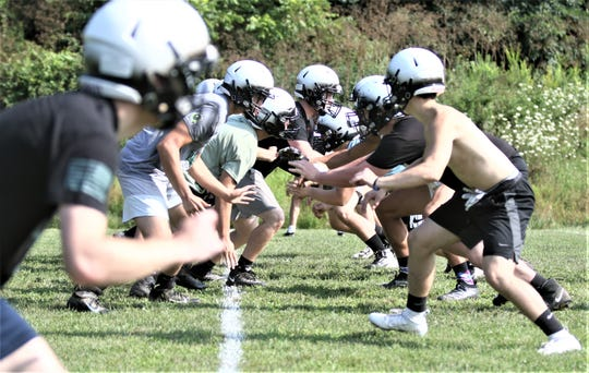 The Clear Fork Colts run through some defensive drills on Thursday kicking off high school football in style. The Colts are 20-0 in their last two regular seasons combined.