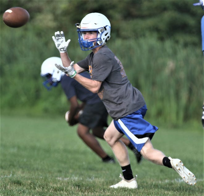 Ontario's Owen Hatfield has a nose for the endzone and returns to the Warriors in 2019.