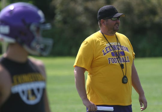 New Lexington head football coach Tim Scheid is ready to see where he can take the program.