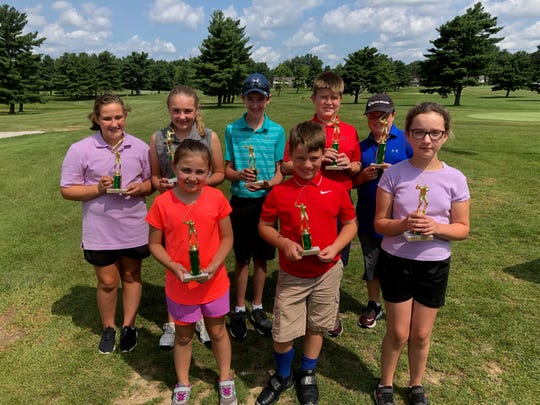 The Richland County Junior Golf Tournament named champions in the boys 10 and under, girls 10 and under, 11-12 boys and 11-12 girls divisions on Thursday at Forest Hills Golf Course.