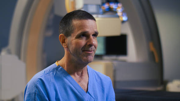 Dr. Blaine Hoppe, Interventional Radiologist.