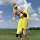 What a banana suit, a lion costume and self-penned rap song won this Tennessee family