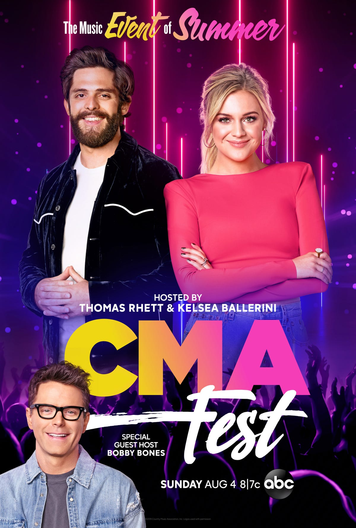 CMA Fest 2019 Special coming to ABC: TV, Streaming and how