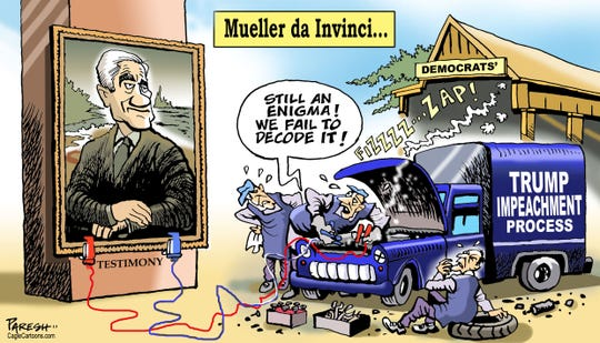 Mueller and impeachment.