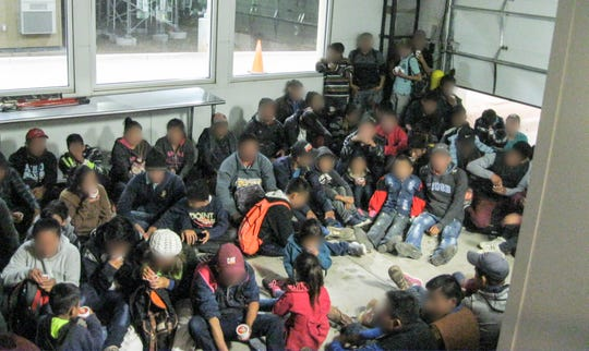 Migrants were being processed at the Lordsburg and Deming Border Patrol stations.