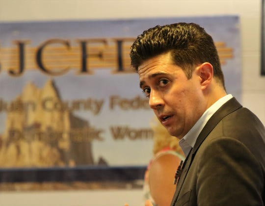Marco Serna is one of several candidates vying for the Democratic Party nomination for Congressional District 3.