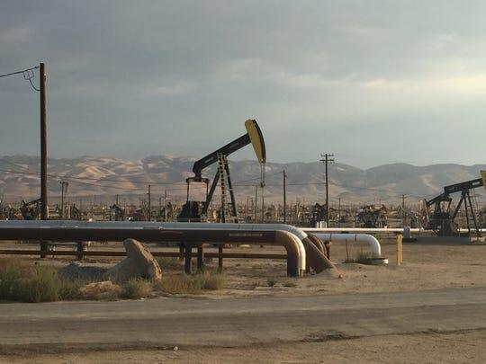 Belridge oil field, Kern County, CA