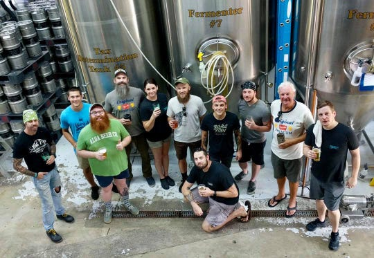 Brewers from Gary's Brewery & Biergarten, Odd Colony, Perfect Plain, Pensacola Bay, Spahr Brewing Company and Big Top Brewing Company collaborated on a special American Pale Ale that will be served during Pensacola Beer Week from Sept. 1-8.
