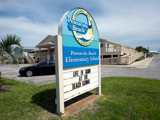 Pensacola Beach Elementary School is denying enrollment to two students based on perceived threats of gun violence made by their mother, a former teacher at the school.