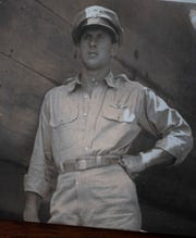 "World War II Army Air Corps pilot Capt. John ""Blackie"" Porter, the leader of ""Blackie's Gang."""