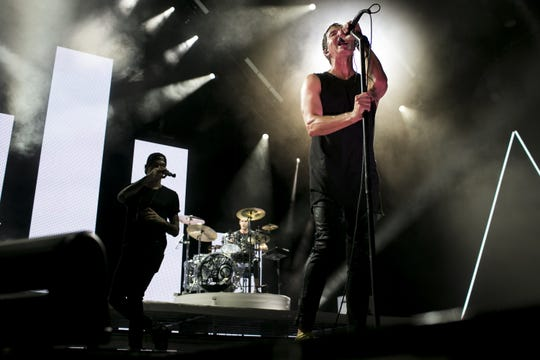 Third Eye Blind perform at Ak-Chin Pavilion in Phoenix on July 31, 2019.