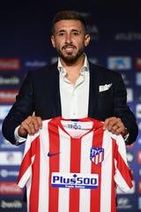 Héctor Herrera, refuerzo del Atlético de Madrid.