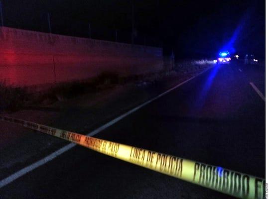 el padre conducía la noche del miércoles un vehículo acompañado por la menor y otro hijo de aproximadamente 4 años de edad.