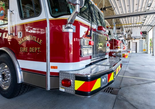 Shortly before 6 p.m. Sunday, the Marysville Fire Department responded to a report of smoke coming from a detached garage at a home in the 900 block of Colorado Avenue.
