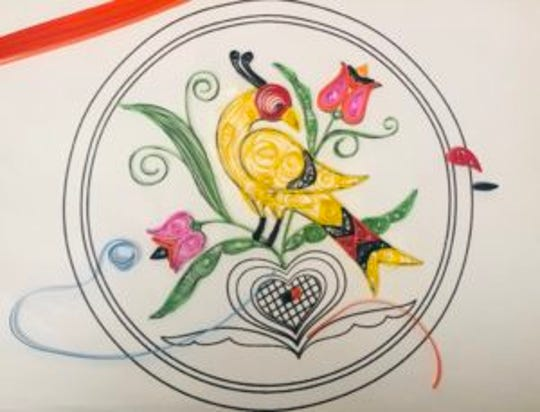 Learn the art of quilling on Saturday, Aug. 17.