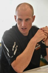 Brandon Bishop, Hanover  Football Media Day, Thursday August 1, 2019. John A. Pavoncello photo