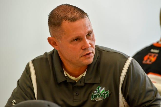 Fairfield head football coach Jason Thurston.