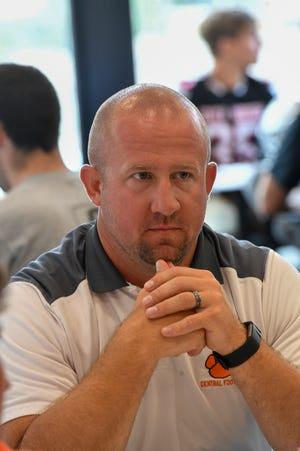 Josh Oswalt, Central YorkFootball Media Day, Thursday August 1, 2019.John A. Pavoncello photo
