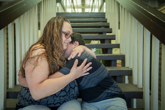 Shanoa Hammons-Williams and her son, Marco Velazquez, 13, both of Salem, Ore., are finally able to look towards their future as a family after Shanoa successfully completed the Family Preservation Project during her time at the Coffee Creek Correctional Facility.