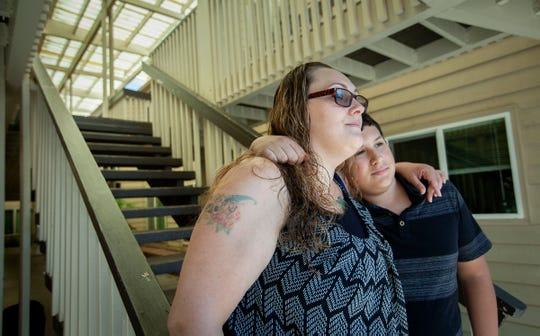 Shanoa Hammons-Williams and her son Marco Velazquez, 13, both of Salem, are finally able to look towards their future as a family after Shanoa successfully completed the Family Preservation Project during her time at the Coffee Creek Correctional Facility.