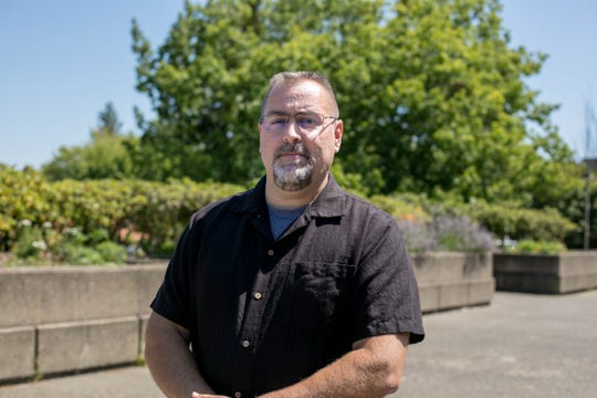 Cliff Carpentier, the new director of Salem-Keizer Public Schools' Safety, Security and Risk Management Services, poses for a picture on July 31, 2019, in Salem.