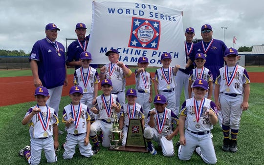 Shreveport team captures Dixie World Series title