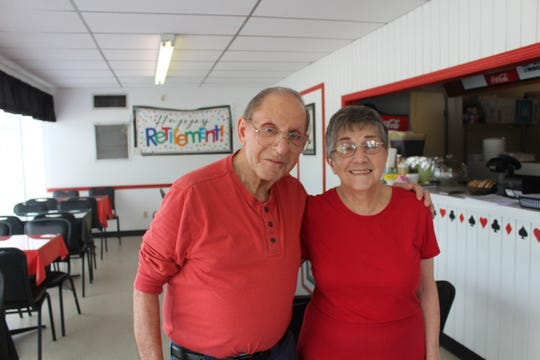 Samuel and Dayle George, owners of Deli Casino Sandwich Shoppe in Shreveport, prepare to retire and close the restaurant after 40 years in business.