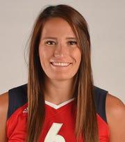 USA Women's Volleyball Team member Tori Dixon