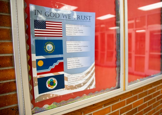 In God We Trust' in South Dakota schools: Law sparks controversy