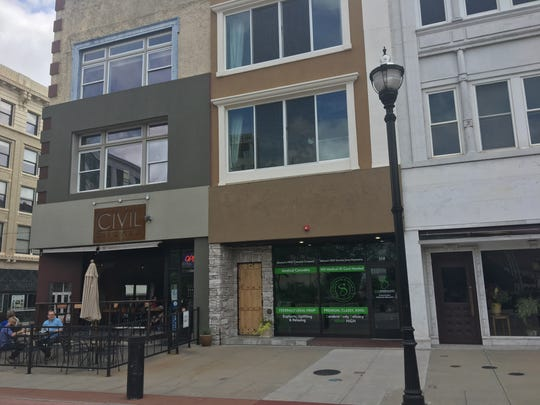 SWIN Dispensaries opened a Springfield location at 108 Park Central Square on July 31, 2019. It sells hemp, or CBD products, including buds that smell and look like marijuana.