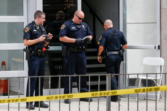 A Springfield News-Leader file photo shows Springfield police at the scene of an incident in August 2019.