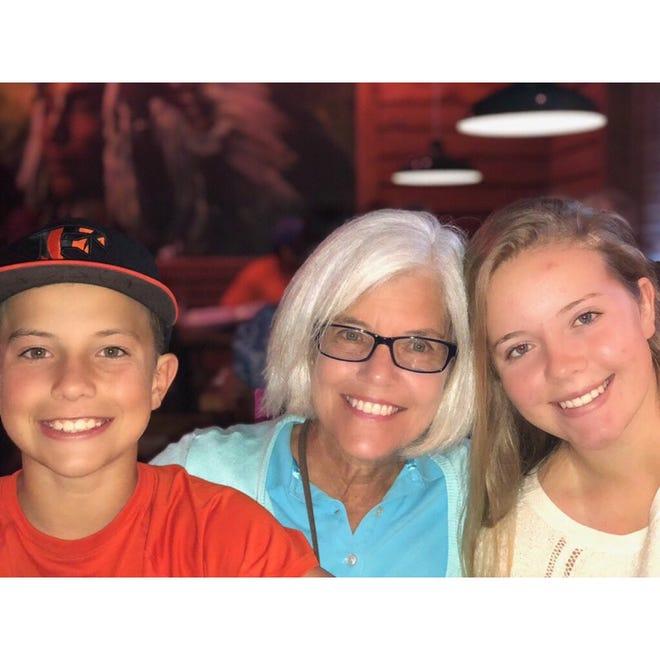 Candace's Jacksonville grandchildren, Rylee and Jackson.