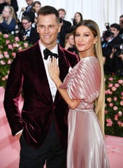 Gisele Bundchen and Tom Brady attend The 2019 Met Gala. The couple are reportedly house hunting in the NYC 'burbs.