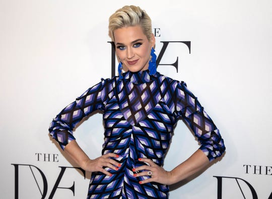Katy Perry at the 10th annual DVF Awards at the Brooklyn Museum in New York, April 11, 2019.