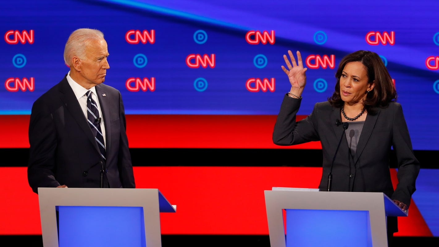 Image result for Biden widens lead, Kamala Harris plummets in CNN poll