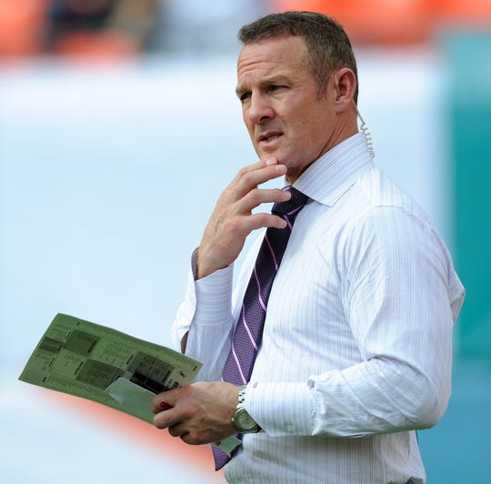 Merril Hoge played eight seasons in the NFL before becoming an analyst for ESPN.